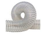 Рукава полиуретановый для воздуховодов и вентиляции (мет. спираль)